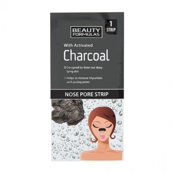 Beauty Formulas Activated Charcoal Nose Pore Strips -0