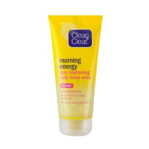 Clean & Clear Morning Energy Skin Brightening Daily Facial Scrub-0