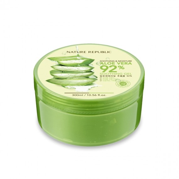 Nature Republic Soothing & Moisture Aloe Vera 92% Soothing Gel-0