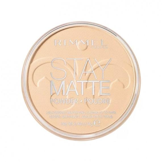 Rimmel Stay Matte Pressed Powder - 001 Transparent-0