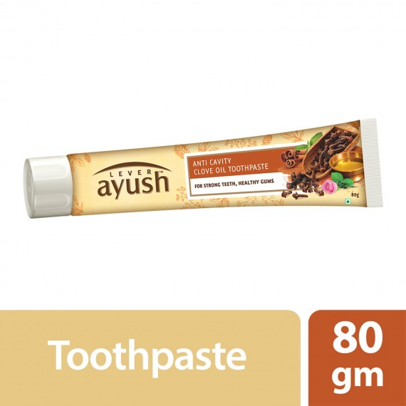 Lever Ayush Toothpaste Anti Cavity Clove Oil -0