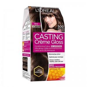 L'Oréal Paris Casting Creme 500 Medium Brown-0