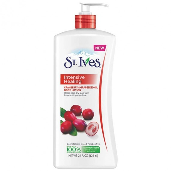 St. Ives Intensive Healing Cranberry & Grapeseed Oil Body Lotion -0