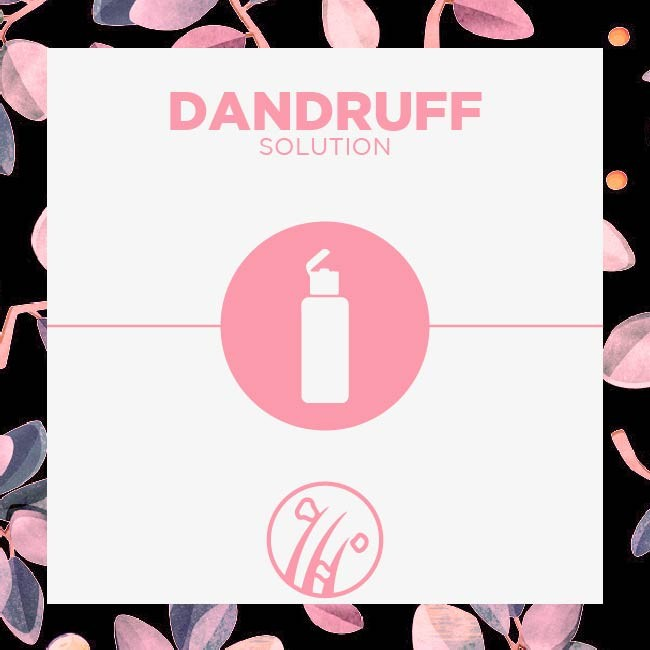 Get rid of Dandruff today